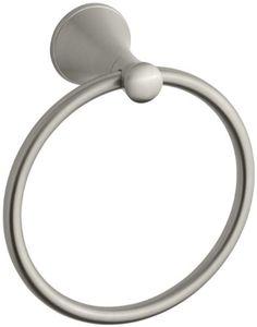 Kohler K-13435-BN Coralais Towel Ring, Vibrant Brushed Nickel >>> For more information, visit image link.