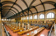 World's 20 Most Stunning Libraries | Fodors Bibliotheque Saintes-Genevieve Paris