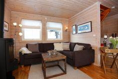 FINN – HOVDEN - DJUPETJØNN - Tiltalende vertikaldelt hytte med sentral beliggenhet