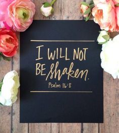 New Quotes Bible Verses Psalms Hand Lettering Ideas Psalm 16, Bible Verses Quotes, Bible Scriptures, Biblical Quotes, Faith Quotes, Scripture Memorization, Healing Scriptures, Scripture Reading, Faith Bible