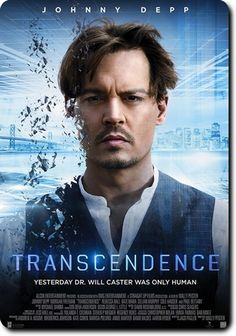 Directed by Wally Pfister. With Johnny Depp, Rebecca Hall, Morgan Freeman, Cillian Murphy. A scientist's drive for artificial intelligence, takes on dangerous implications when his consciousness is uploaded into one such program. Science Fiction, Fiction Movies, Good Movies To Watch, Great Movies, Film Movie, Cinema Posters, Movie Posters, Image Film, Bon Film