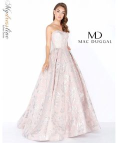 a7f6b86765a Mac Duggal 66554M prom 2018 evening collection dress. Serendipity Prom