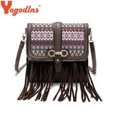 1b16cec90e97 Bolsa Feminina 2016 Women Messenger Bags Women Handbags Designer Small Bags.  BICOLOR Fashion Style Tassel Women Handbags Messenger Bag for ...