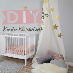⭐️DIY – Children's tent - Famous Last Words Baby Bedroom, Baby Room Decor, Nursery Room, Girls Bedroom, Child's Room, Childrens Play Tents, Baby Room Design, Girl Room, Interior