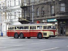 trolejbus Tatra T400 .. Rail Transport, Public Transport, Retro Bus, Nostalgia, New Bus, Buses And Trains, Busses, Motorhome, Cars And Motorcycles