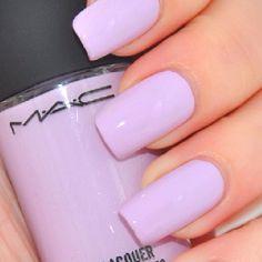 Mac lavender nail polish