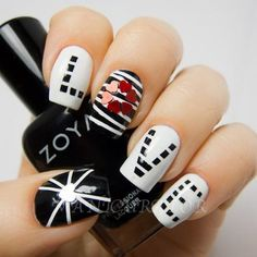 Beautiful nail art designs that are just too cute to resist. It's time to try out something new with your nail art. Fantastic Nails, Fabulous Nails, Nails Opi, My Nails, Cute Nail Art, Beautiful Nail Art, Nailart, Love Nails, Pretty Nails