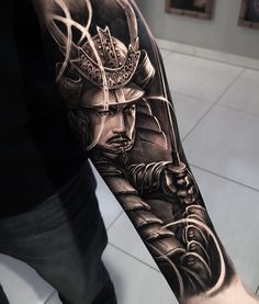 Ideas Tattoo Arm Men Samurai For 2019 Warrior Tattoo Sleeve, Samurai Tattoo Sleeve, Samurai Warrior Tattoo, Warrior Tattoos, Japanese Warrior Tattoo, Japanese Mask Tattoo, Japanese Tattoo Designs, Japanese Sleeve Tattoos, Tattoo Sleeve Designs