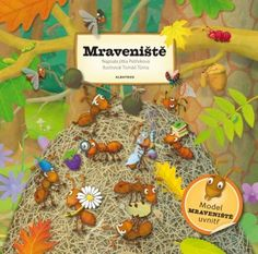 Mraveniště Activities For Kids, Ale, Christmas Ornaments, Holiday Decor, Model, Books, Logo, Catalog, Projects