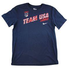 #LacrosseUnlimited #Nike Stripe USA Tee