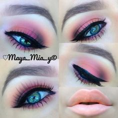 I have a video tutorial for this look on my YouTube Channel www.youtube.com/007MayaMia uploaded a few months ago #Padgram