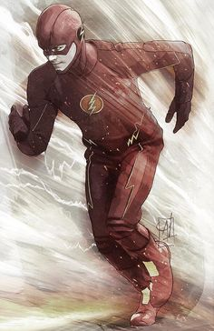 (DC COMICS) FLASH by Alex Heuchert