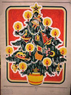 Vintage Christmas design 1954 | Flickr - Photo Sharing!