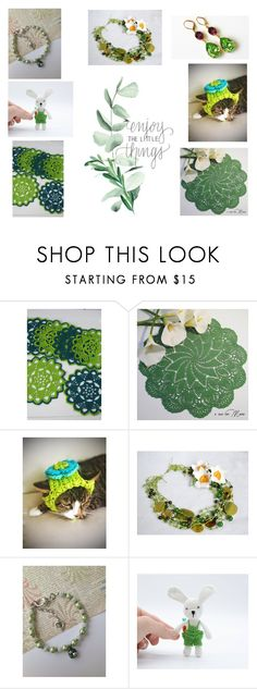 """Enjoy the little things"" by artistinjewelry ❤ liked on Polyvore"