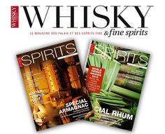 Vous l'avez rêvé ? Eux aussi et ils l'ont fait ! Un magazine dédié aux whiskys et spiritueux ! Créé en février 2004, Whisky Magazine & Fine Spirits est le seul magazine français consacré aux spiritueux en général et au whisky en particulier. WHISKY MAGAZINE & FINE SPIRITS : LE MAGAZINE DES PALAIS & ESPRITS …