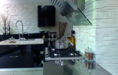 Küche Mit Steinoptik Lascas Wandverkleidung Stein, Dekorative Wände,  Steinwand, Wanddekoration, Raumgestaltung,