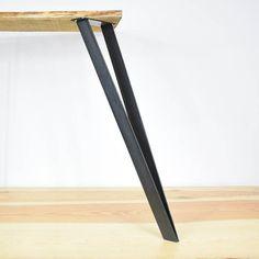 JUMPER Tabelle Fuß Flachstahl 71 cm Stehtisch dunkle von Ripaton