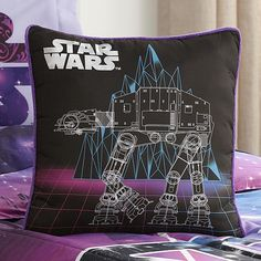 Lucas Star Wars Girl's Hyperspace Decorative Pillow