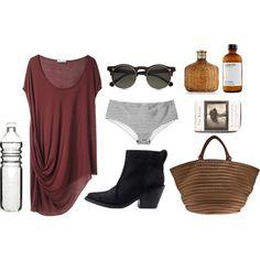 """Summer"" by deysarah on Polyvore beach"