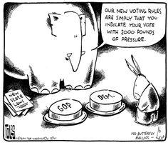 New voter suppression solution