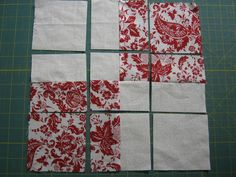 disappearing 4 patch quilt patterns | isappearing F our P atch B lock from Beth