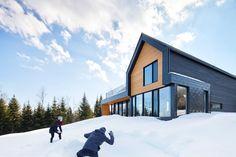 Le spectaculaire chalet Monrocher donne assurément le goût de vivre dans Charlevoix - Joli Joli Design