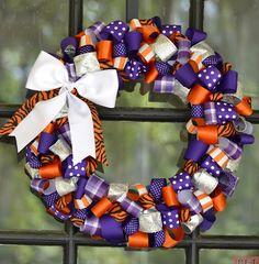 Clemson Tigers Wreath !!
