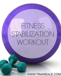 Repinned: Full Body Stability Ball Workout