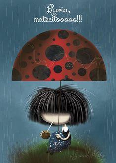 Lluvia, matecito!