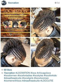 This hairstyle is for a man but would look just as lovely on a woman. Men Dread Styles, Dreadlock Styles, Dreads Styles, Braid Styles, Dreadlock Hairstyles For Men, Dope Hairstyles, Creative Hairstyles, Black Men Hairstyles, Dreadlocks Men