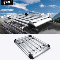 Upgraded For Jeep Renegade Roof Rack Crossbars Cargo/Luggage Carrier Jeep Grand Cherokee Accessories, Ford Explorer Accessories, Grand Cherokee 2014, Roof Rails, Jeep Renegade, Basket