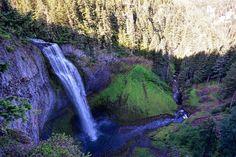 Salt Creek Falls, west of Bend, Oregon. -------- @ tdeswert