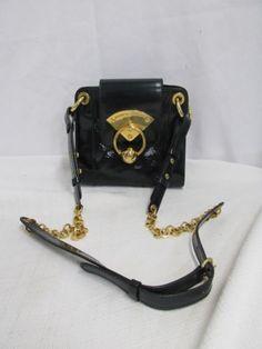 Alberta Ferreti Patent Shoulder Bag