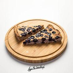 Placek z kaszy gryczanej - bez dodatku tłuszczu, czteroskładnikowy ⋆ AgaMaSmaka - żyj i jedz zdrowo! Raw Food Recipes, Cake Recipes, Cooking Recipes, Vegan Food, Healthy Sweets, Healthy Cooking, Healthy Meals, Sweets Cake, Polish Recipes