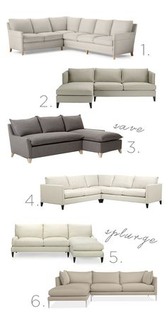 On the Hunt: Sectional Sofas | Sacramento Street