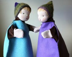 we bloom here: Making Waldorf Inspired Glove-Puppets: a tutorial