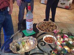 Chicken liver  babies  vodka = #christmas2016