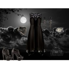 """""""Night whispers"""" by missanthropia on Polyvore"""
