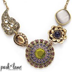 Casablanca Necklace This statement necklace is absolutely stunning! Pictures do it no justice! Find out how to get Park Lane 80% off! Contact me to host a party or purchase the finest fashion jewelry! Dawnewhitaker@gmail.com