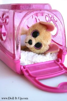 18 inch doll pets-Ty Beanie Boos Keychain Nacho