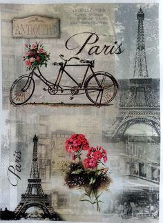RICE DECOUPAGE PAPER / PARIS 2 / CRAFT PAPER / DECOUPAGE SHEETS / SCRAPBOOKING | eBay