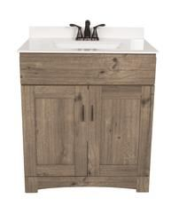 Dakota 30 W X 21 D Cottage Monroe Vanity Base Menards Bathroom Vanity Bathroom Vanity Vanity