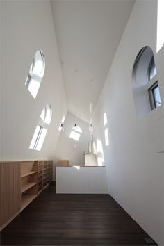 House with Eaves and an Attic, #Tokyo, 2011 by ON design Partners #architecture #japan #house #interiors