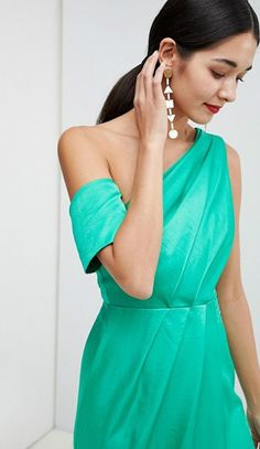 dc943aa1cbc5 142 Best Green Dresses images in 2019