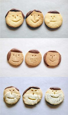 Make a face cookie - image