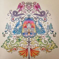 Johanna Basford | Colouring Gallery | By Agatha C.