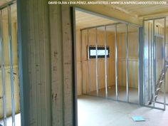 Container House in Muntanyola (Barcelona). Nova, Container Architecture, Construction Process, Container Homes, Barcelona, David, House, Furniture, Ideas