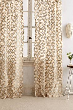 Shimmering Jacquard Curtain