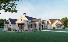 5 Bedroom House Plans, Garage House Plans, New House Plans, Dream House Plans, Rambler House Plans, Custom Home Plans, Farmhouse Flooring, Modern Farmhouse Plans, Future House