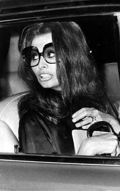 Sophia Loren in Sixties sunglasses